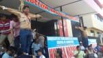 Chiclayo: trabajadores del Poder Judicial se crucificaron - Noticias de julio ubillus