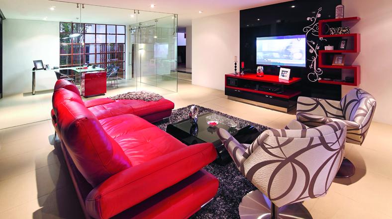 Cuartos de tv y cine entretenimiento asegurado en casa - Muebles para tv en habitaciones ...