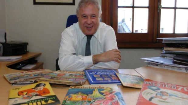 Marcos Silvera Antúnez, presidente de la Asociación de Coleccionistas del Uruguay. Foto: El País de Uruguay (GDA)