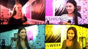 LIF Week 2014: cómo se preparan las modelos para la pasarela