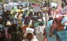 Veinte heridos dejó choque entre policías y mineros en Mazuco