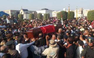 Óscar Avilés: con jarana reciben restos del músico en el Callao