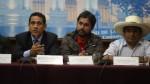 Dirigente antiminero se lanza a la alcaldía de Bambamarca - Noticias de edy benavides