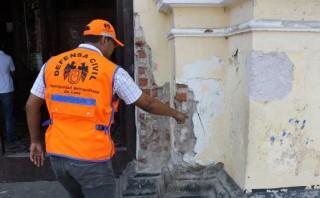 Semana Santa: inspeccionaron iglesias del Centro Histórico