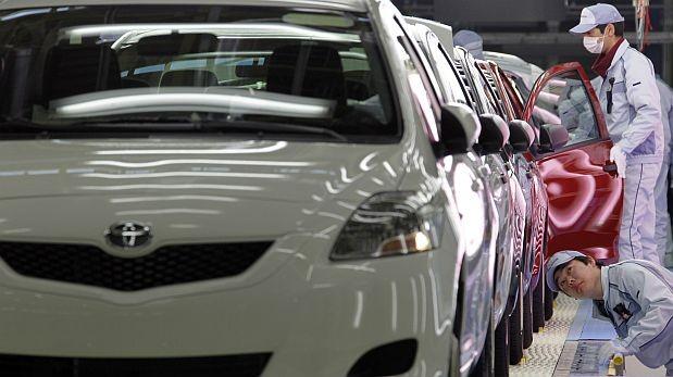 Primera bajada del beneficio neto de Toyota en cinco años