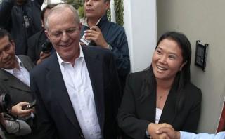 Keiko Fujimori y PPK lideran intención de voto para el 2016