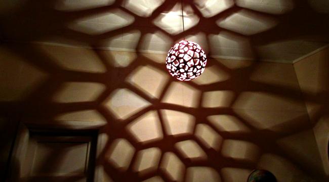 Crea tu propia l mpara de techo para proyectar sombras - Crea tu propia casa ...