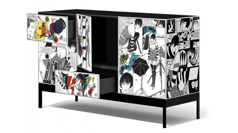 Fan tico del pop art estos divertidos muebles son para for Muebles divertidos
