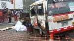Choque en Miraflores: a 2 aumentó el número de muertos - Noticias de jose casimiro ulloa