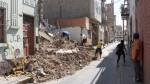 Chiclayo: casona se desplomó y pone en peligro a vecinos - Noticias de cesar timana