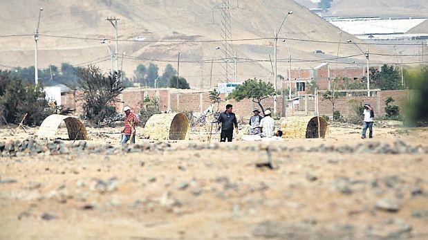 Traficantes de tierras invaden fundo en la provincia de Cañete