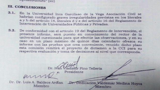 Comisión de la ANR confirma irregularidades en la Garcilaso