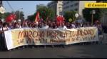 #UnionCivilYa: marcha concluyó en la Plaza San Martín - Noticias de carlos tejada