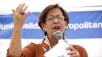 """Villarán: """"Lo mejor para Lima es una coalición democrática"""" - Noticias de santiago tang"""
