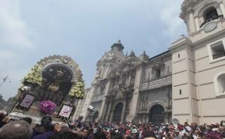 Señor de los Milagros recorrerá el centro de Lima este viernes