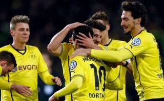 Borussia Dortmund se metió a la final de la Copa Alemana