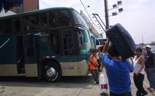 ¿Viajarás en bus por Semana Santa? Sigue estos consejos