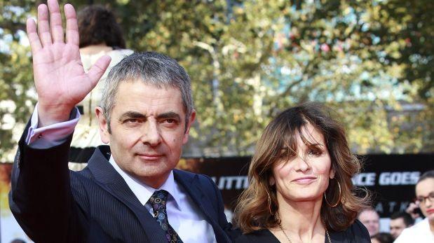 Mr. Bean deja a su esposa por actriz 28 años menor que él