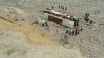Caída de bus a abismo: identifican a fallecidos en accidente - Noticias de aurelio padilla