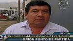 """Orión: """"Nuestros conductores tienen derecho a trabajar"""" - Noticias de robert chavez falconi"""