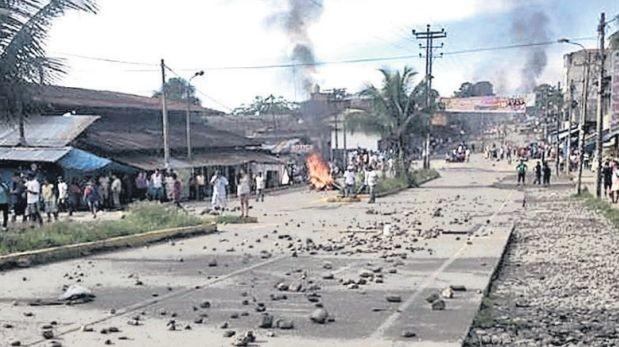 Madre de Dios perdió más de S/.5 mllns. en 22 días de protestas