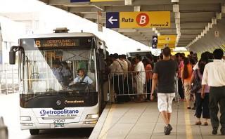 Por Semana Santa el Metropolitano no tendrá servicios expresos
