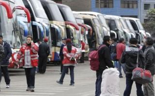 Semana Santa: piden a pasajeros denunciar choferes imprudentes