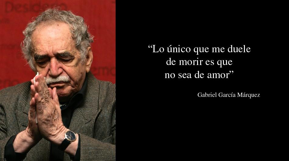 20 frases célebres de Gabriel García Márquez