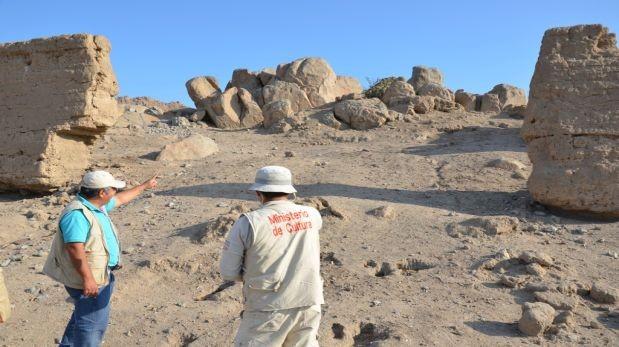 Huaqueros destruyeron cementerio de la cultura Lambayeque