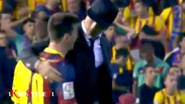 El video de cómo 'CR7' consoló a Messi en la final de la Copa