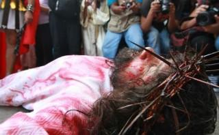 """Vía crucis del 'Cristo cholo' pudo terminar en tragedia"""