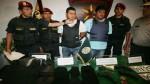 Dos asaltantes de bancos capturados en Villa María del Triunfo - Noticias de jose yataco