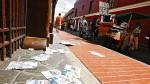 Ambulantes toman el centro ante falta de fiscalización - Noticias de ruben quesada