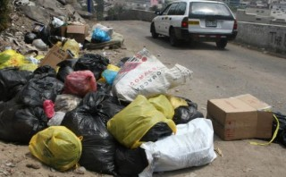 Alrededores del Cerro San Cristóbal terminaron llenos de basura