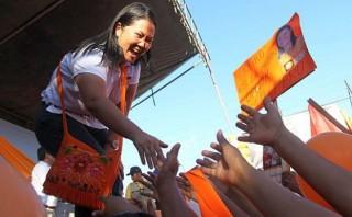 Keiko Fujimori sigue liderando intención de voto presidencial