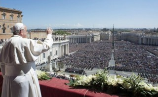Papa pide que cese la violencia en Venezuela, Ucrania y Siria