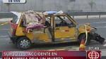 Surquillo: un muerto deja choque en la Vía Expresa - Noticias de jose casimiro ulloa