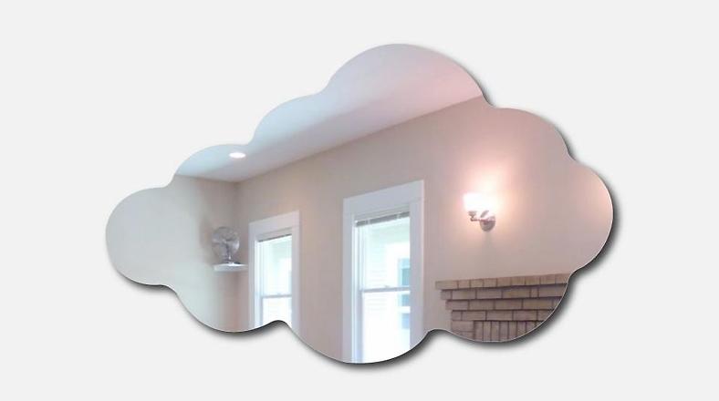 Con la cabeza en las nubes diez formas de decorar tu casa for Espejos con formas originales