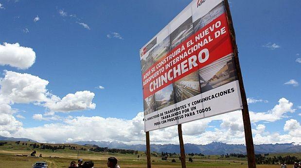 En unos meses iniciaría construcción de aeropuerto de Chinchero