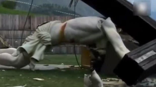 Italia: Joven muere aplastado por escultura de Juan Pablo II