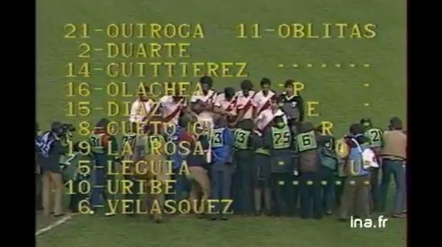 Hace 32 años, Perú le ganó a Francia en Parque de los Príncipes