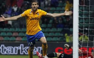 Juventus ganó y está a un triunfo del tricampeonato en Serie A