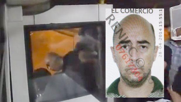 Pasajero del Metropolitano que le pegó a chofer pide perdón