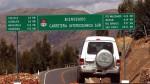 Toledo: los tramos y adendas de la Interoceánica sur - Noticias de tráfico vehicular