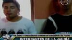 Dos sicarios de 19 años fueron capturados en Trujillo - Noticias de alcides vigo hurtado