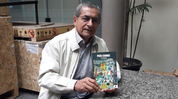 Pese a la crítica social, el libro no es pesimista, afirma Pedro Morillas. (Foto: José Silva)