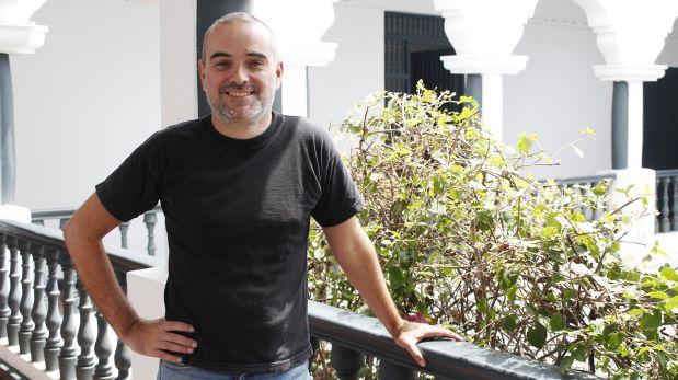 Raúl Hernández, autor del documento 'Quién escribe más y sobre qué?. (Foto: IEP)