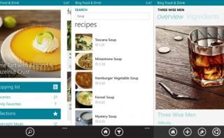 Bing food & Drink, la aplicación para engreir a mamá