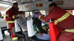 Quince heridos dejó choque de una combi en Villa El Salvador - Noticias de comisaría laderas de villa
