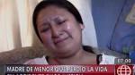 Madre de niña atropellada por combi pirata pide pena máxima - Noticias de accidente automovolistico